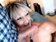 Gorgeous MILF Mrs Henderson gets facialized