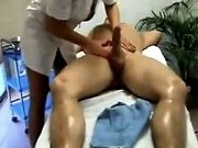 Blonde Slut Gives A Massage