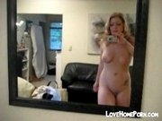 Traccy mirror self shot video