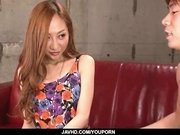 Japanese Erena AiharaВ gets fucked hard on cam