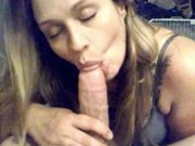 perfect blowjob. . . and she swallows