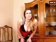 Hot emphatic mom giving jerk off instructions
