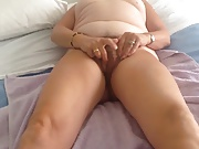 My wife cumming noisily