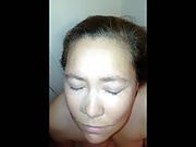 Exposed Amateur Wife Facial Compilaton