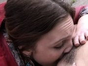 Hairy and shaved lesbian girls misbehave in public