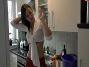 Hot Teen Fucked In The Kitchen