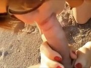 Hottest Amateur movie with Handjob, Close-up scenes