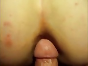 submissive slut love ass to mouth
