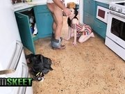 ExxxtraSmall - Tiny Girl Gets Facial From Plumber