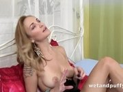 """Belle Claire Oiled Up Pussy"""