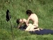 Couple fucking within the bush