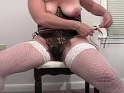 Fabulous Amateur clip with Big Tits, Stockings scenes