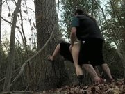 Open Season: Buck mounts Doe BBW Amateur Adventure Sex Public Sex in Woods
