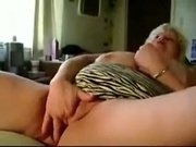 Blond bbw milf gives sloppy head pt