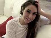 Christiana cinn blowjob cravings lead to creampie