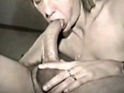 Vintage nurse sucking big cock