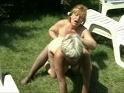 Crazy Amateur record with Hairy, Lesbian scenes