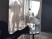 Wife Naked Bending Over After Shower in Hotel