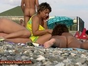 Crazy Amateur video with Nudism, Voyeur scenes