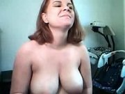 Pregnant hoe showed me her big tits