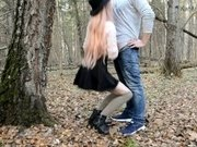 THE CUTE GIRL IN STOCKINGS GOT LOST IN THE FOREST AND WAS FUCKED|2::Teens,4::Blowjob,11::Public,12::Cumshot,30::POV,38::HD,46::Verified Amateurs