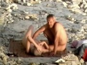 Horny Homemade record with Beach, Voyeur scenes