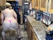 erotic dace in the kitchen
