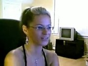 Sexy Glasses Webcam 1