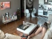 Hackers use the camera to remote monitoring of a lover's home life.35