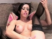 Fake big tits brunette bangs uk agent