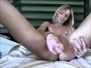 Thin blondie that is young was uninterested alone within th