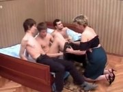 Amazing Homemade clip with Russian, Mature scenes