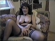 Crazy Homemade movie with Couple, Stockings scenes