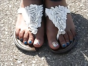 Mika Blue Toes