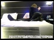 Teen British Escort Blowjob and fuck in hotel