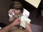 Hot lustful business woman gets fucked