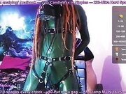 Latex Gas Mask Camshow